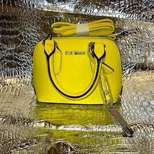 Steve Madden Bright Yellow Mini Cross Body Bag!